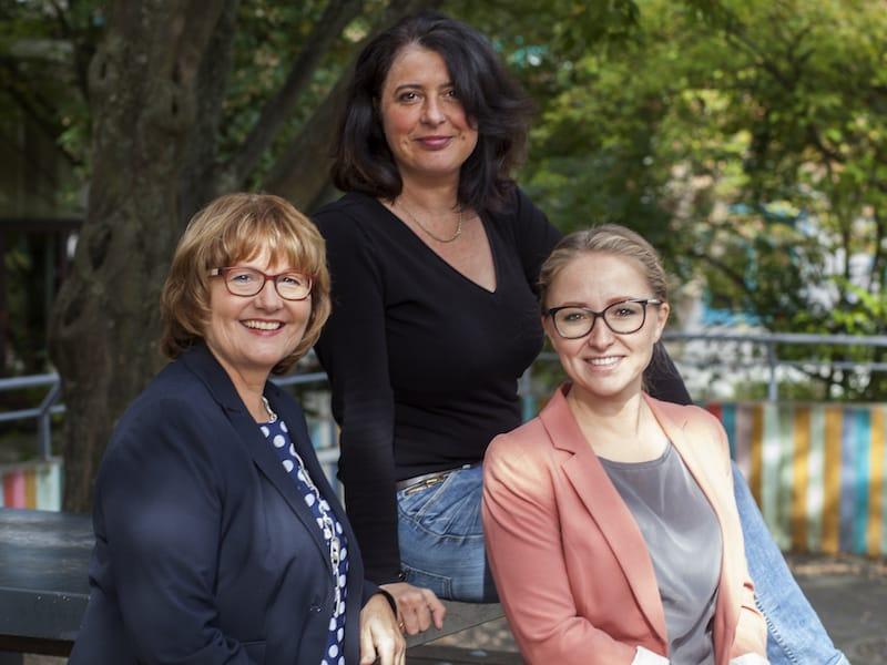 Anna Müller-Marx, Andrea Wagner, Tatjana Hofmann (v.l.n.r.)